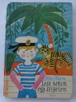 Fehér Klára: Lesz nekem egy szigetem - mesekönyv Demjén Zsuzsa rajzaival