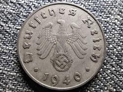 Németország Horogkeresztes 10 birodalmi pfennig 1940 F (id41860)