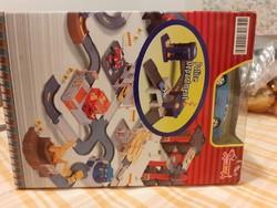 Auto-City Playset Police Department Új, dobozában -  Hobby DAX matchbox