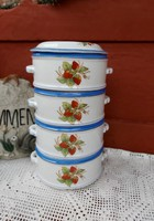 Strawberry strawberry elbogen food barrel food nostalgia collectible piece antiques peasant village decoration