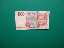 Olaszország 1000 líra 1990
