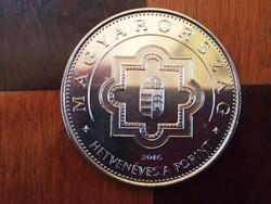 Hetvenéves a forint 50 forint emlék érme 2016