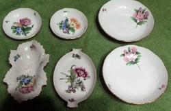 Herendi porcelán tálkák, hamutartók