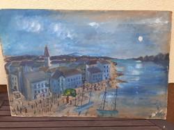 Large beach painting