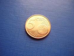 BELGIUM 5 EURO CENT 2015 ! UNC! FÜLÖP KIRÁLY! RITKA