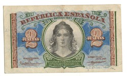 2 peseta 1938 Spanyolország