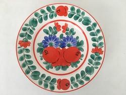 Iparművész tányér falitányér