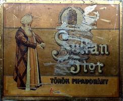 SULTAN FLOR PIPADOHÁNY DOBOZA 1897-ből