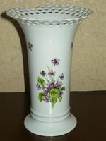 Sérült Wallendorfi porcelán váza