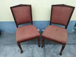 2 db szék az 1800-as évek végéről