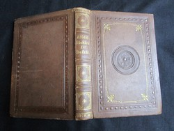 ALBACH JÓZSEF Emlékezetek az Istenről, virtusról, örökkévalóságról PEST 1864 MESTERI KÖNYVKÖTÉSZET