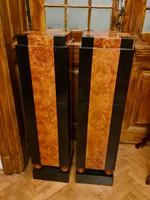 Pair of artdeco pedestals