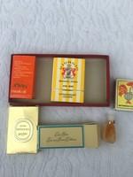 4 db mini parfüm - Juvan Musk oil - Estée Lauder - Giorgio Beverly - Mitsouko