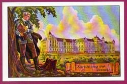 E - 0028 - - - Irredenta (reprint) képeslap - Csíkszereda, Róm. Kat. gimnázium