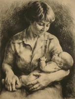Kiss Terézia (1928 - ) : Anyaság