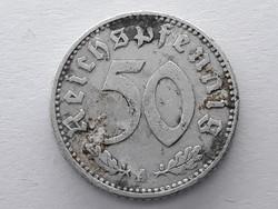 Németország 50 pfennig 1940 A - Német 50 reichspfennig külföldi pénzérme eladó