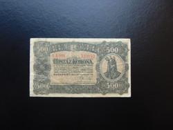 500 korona 1923 5 A 016