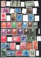 Román pecsételt bélyeg összeállítás (12.) 39 db 83,90 EUR (d 933)