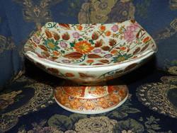 Dúsan festett Kínai asztalközép,kínáló