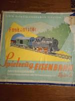 Gyermek vasut az 1950-es évekből