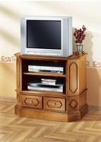 Trapéz alakú klasszikus TV szekrény