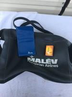 MALÉV relikvia táska - bőrönd kézipoggyász -