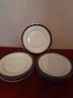 Antik Fischer Emil desszertes tányérok  18,5 cm