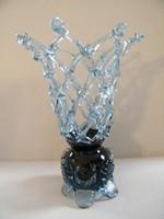 Kézzel készült fújt, szakított üvegdísz
