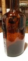 Régi Dreher likőrös üveg