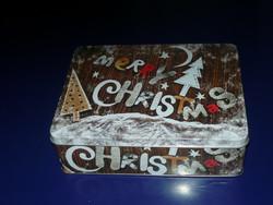 Karácsonyi fém doboz