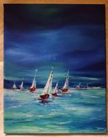 Vad szélben festményem