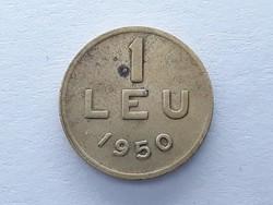 Románia 1 Leu 1950 - Román 1 lej érme eladó