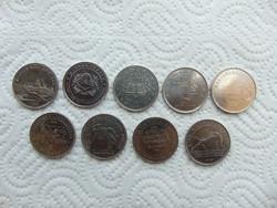9 darab 50 forint LOT !!!