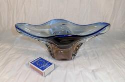 Nehéz üveg asztalközép