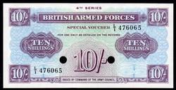 Anglia 10 shillings katonai UNC 1962