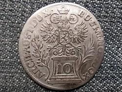Csehország Mária Terézia (1740-1780) ezüst 10 Krajcár 1760 (id43809)
