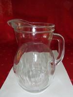 Bormiolll Rocco antik üvegkancsó, magassága 19 cm. Literes.