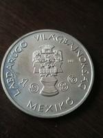 Labdarúgó VB Mexikó 1986 100 Forint 1985 BU
