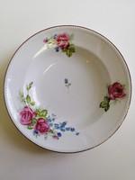 Fali tányér rózsa mintával