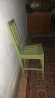 Antik keményfa szék népi