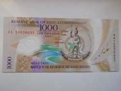 Vanuatu 1000 vatu 2020 UNC Polymer