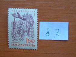 MAGYAR POSTA 1,60 FORINT 1958. évi légiposta - Repülőgépek 8 J