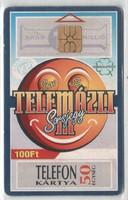 Magyar telefonkártya 0318  1996 Telemázli GEM 1  136.000 Db-os
