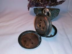 Antik ezüst kulcsos zsebóra tok