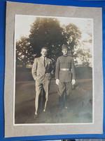 Régi katonafotó. I. világháborús