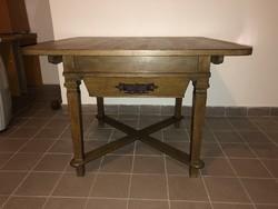 Barokk, copf stílusú rusztikus asztal