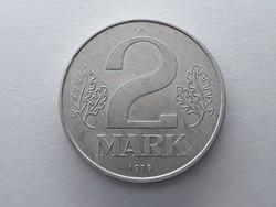 Németország 2 Márka 1978 A - Német 2 mark érme eladó