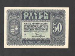 50 fillér 1920.  UNC !!!