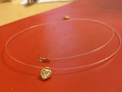 Különleges 18k arany lánc medállal