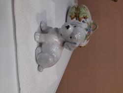 Porcelán Kutya